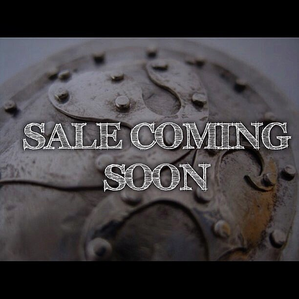I'll be having a sale soon. Please share